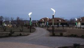 Парковый фонарь